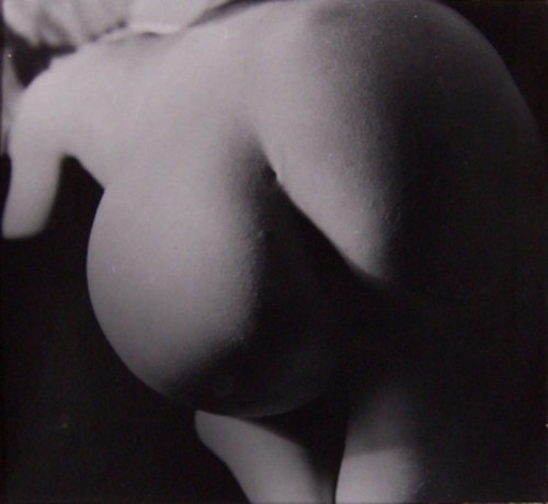 heart-shaped-apple:  nude of the day (Raul Hausmann)