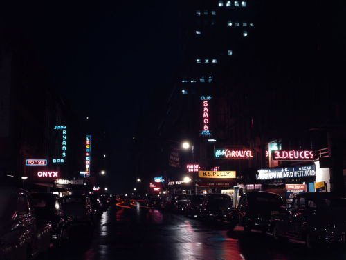 52nd Street, New York, by Gottlieb, 1948