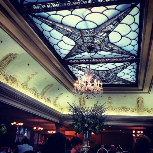 Pretty ceilings.  (Taken with instagram)
