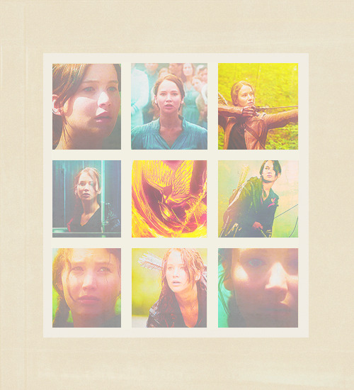 She's our Mockingjay My Hunger Games