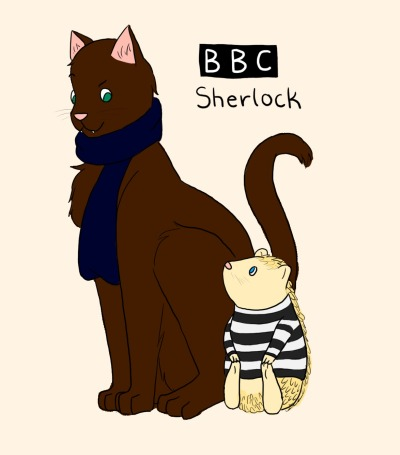 my first official sherlock fanart.