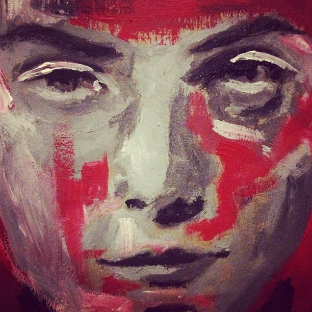 Quick gestural painting at 2am! Feels good. - Follow me: @yatcher #webstagram
