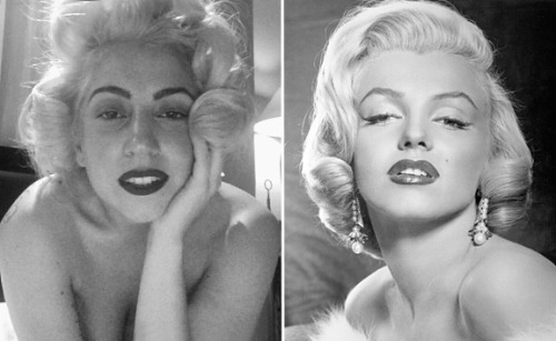 Awwww, Lady Gaga channels Marilyn Monroe on her birthday!