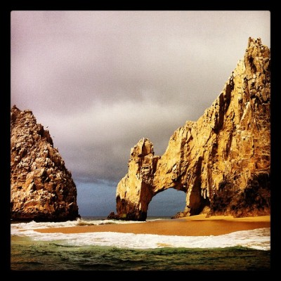 Arch on Baja Peninsula - Cabo (Taken with instagram)