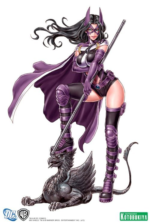 DC Bishoujo Huntress by Kotobukiya Final Art