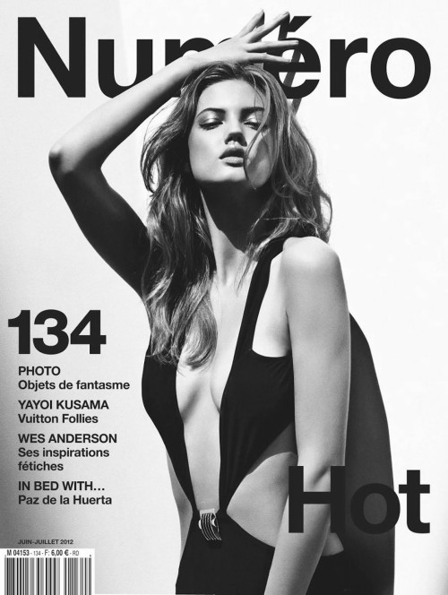 Lindsey Wixson by Sebastian Kim for Numéro June/July 2012. You will also like: Mila Kunis for Los Angeles Times Magazine.