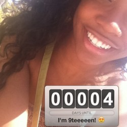 COUNTDOWN TO CHANTELLE'S BIRTHDAAAAAY! My big day is comiiiiiing! Shoutout to ALL the #JuneBugs #JuneBabies #Geminis #June5 #Countdown 👏👏👏❤❤❤❤❤😁😁😁😁😁🎉🎉🎉🎁🎁🎁♊♊♊♊♊🎈🎈🎂😘😘😘 (Taken with instagram)