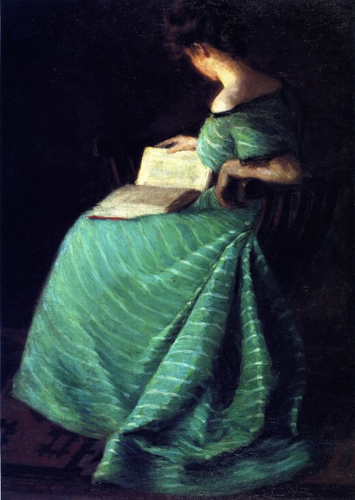 23silence:  Sara Hayden - Girl in Green, 1899