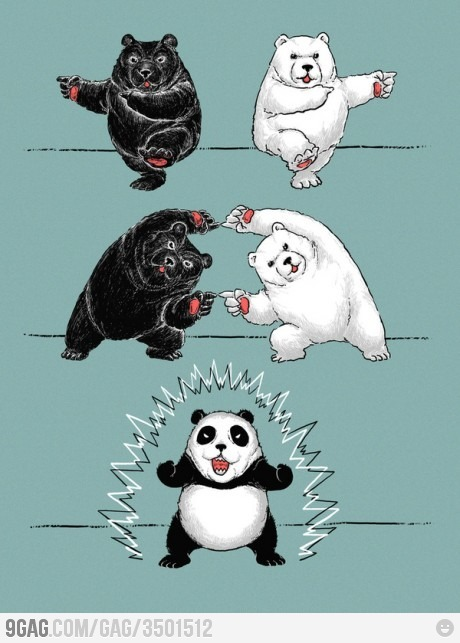 When our powers combiiine…PANDA POWER!