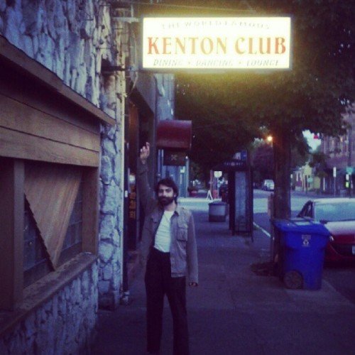 At kenton club in portland, or last night, a good old dive bar. (Taken with instagram)
