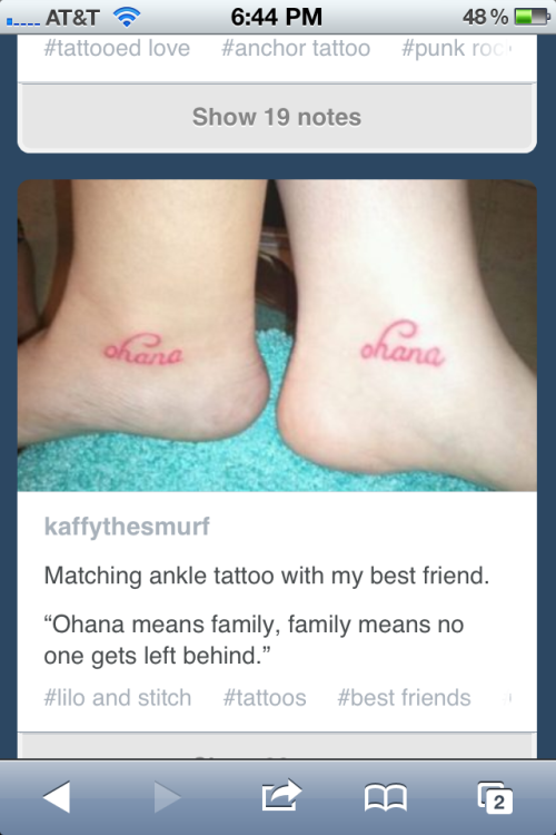 I wanna get this tattoo with my twin!