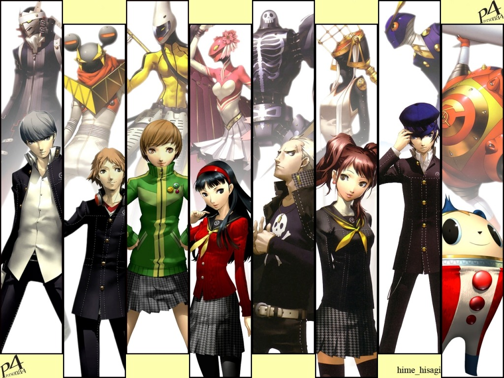 NOW PLAYING: PERSONA 4 (PS2) Persona 4 takes place in the fictional, rural Japanese town of Inaba, which lies among floodplains and has its own high school and shopping districts. Unexplained murders have taken place in the small town, where bodies are found dangling among television antennas and their cause of death unknown. At the same time, rumor has begun to spread that watching a switched-off television set on rainy midnights will reveal a person's soulmate. Following the rumor, a group of high-school students discover the Midnight Channel, a fog-shrouded world accessed through television sets infested with monsters called Shadows. They also discovered each of their Shadow Selves, symbolizing their suppressed personalities. Confronting their Shadow Selves awakened their ability to summon beings known as Personas. Using Personas, the students form an Investigation Team to investigate the connection between the TV world and the murders, and possibly capture the culprit.