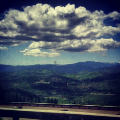 Our view in Oregon @sidthe3rd @mach2point8ent  @tmvsc  (Taken with instagram)