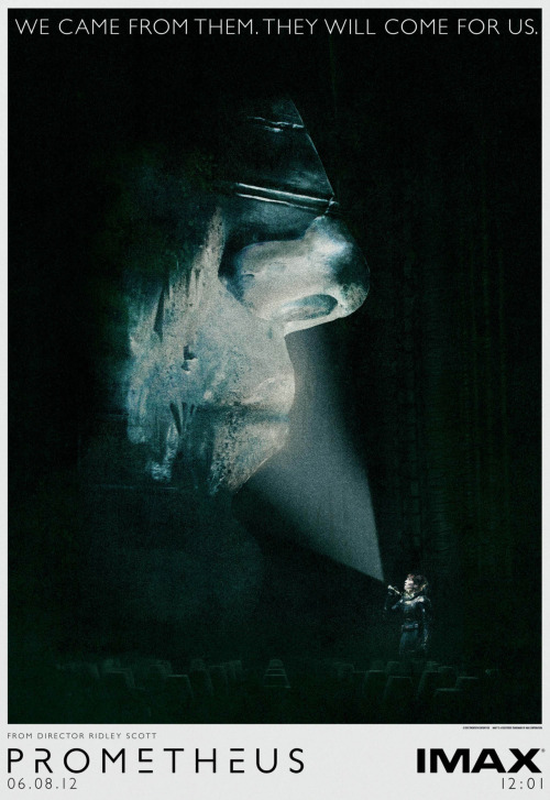 what a spectacular poster! ridley scott's prometheus