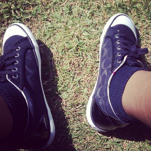 Todays kicks  (Taken with instagram)