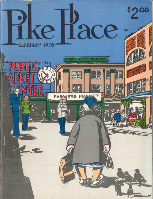 seattlefoodfuckyeah:  Pike Place Market booklet, 1978