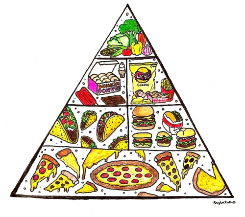 thisishangingrockcomics:  the food pyramid