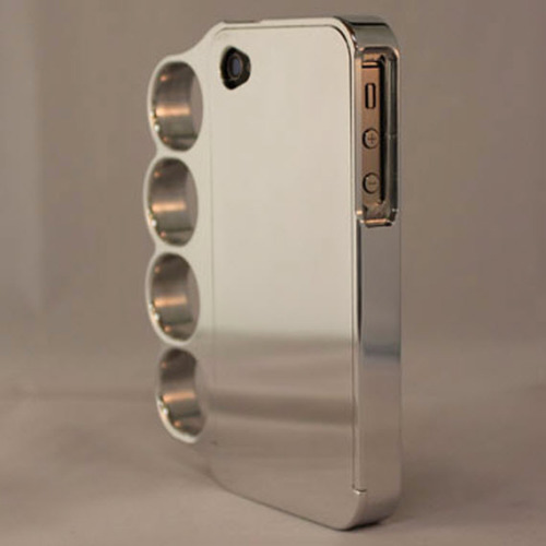 mudwerks:  Brass Knuckles iPhone Case