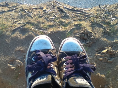 My converse are so destroyed. BEACH!