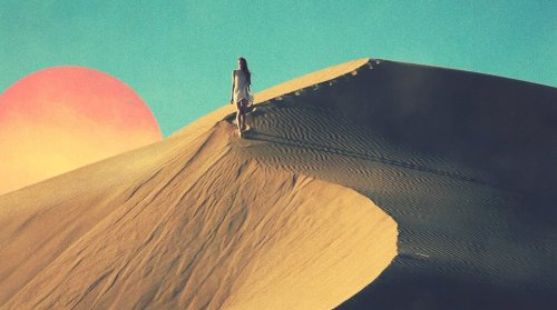 The real question is, are we coming down yet?  Still from Tycho's live visuals, shot by Charles Bergquist. Oh, and that's me. :)