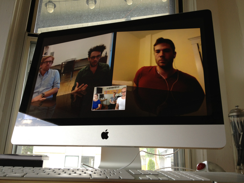 hitRECord Weekly Video Conference