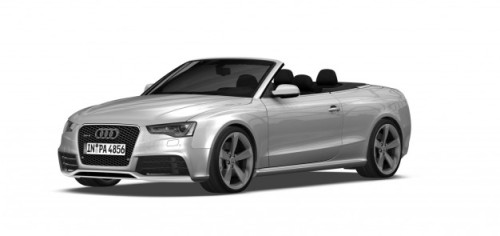 Audi's RS5 cabriolet likely will come to the U.S., government documents show. via Car and Driver