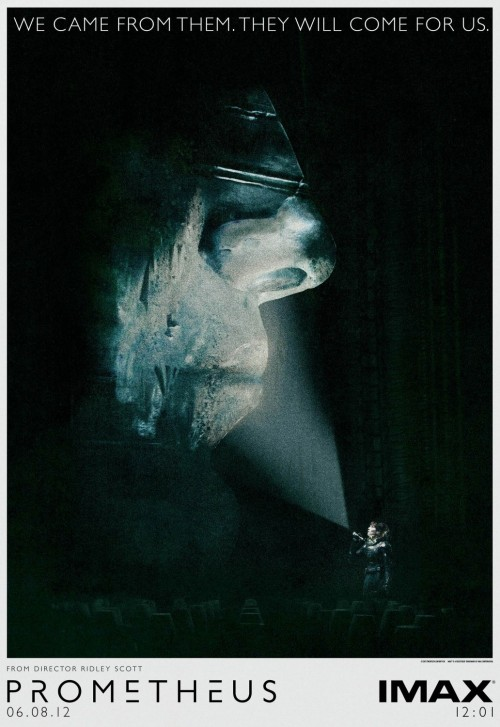 a very cool poster for PROMETHEUS