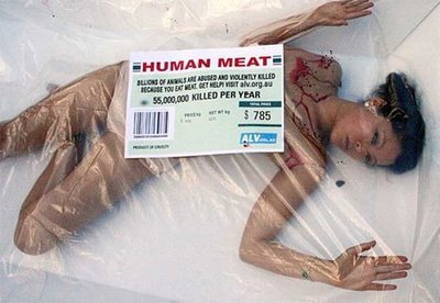 tellhimtoshrug:  This ad accurately summarizes why PETA is the antichrist.  1) There is never a reason to sexualize and objectify a woman in an ad. If your cause is worthy, you don't need sexism. 2) Not only is the woman sexualized, she's been the victim of violence, which could make this ad triggering to any woman who has been abused.  This is disgusting. The fact that PETA ends up representing the vegan cause makes me want to punch a wall.  This ad could be the exact same but be of a man instead of a women, and then would you say that the man is sexualized in objectified? Would  you be concerned for all the men in the world that have been abused/beaten? I am constantly debating whether I should unfollow you or not because, although you mean well, you pick at every single thing in the world that you think doesn't measure up. Complaining about something doesn't change anything. And if you complain enough, you will eventually lose all your voice (metaphorically, of course). 2. Just because a woman is partially or fully naked doesn't mean it's about sex. Pertaining to the ad: animals don't wear clothes, so it would look stupid if they did the ad with clothes on her.  Moreover, it wouldn't get the point across. Pertaining to life: people like you who associate nudity with sex frustrate me. You want to complain about everyone sexualizing women, but you enable it by associating all nudity with sex. Do you expect us women to dress like nuns, or do you want us to dress freely, with as little or as much clothing as we like? Because you can't have both of those, and as of right now, you contradict yourself with your ideas. P.S. The offense of this ad, the objectification, etc., is the entire point of the ad. This is what happens to animals, and the same reason why you are upset about the treatment of the female in the ad is the same reason why people go vegan.