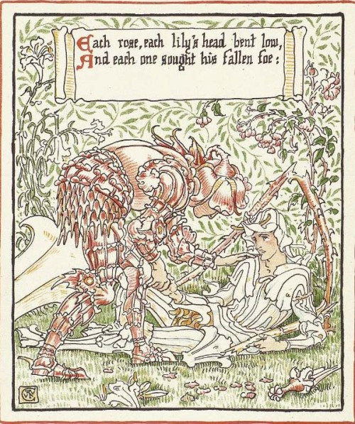 geisterseher:  Walter Crane. Queen Summer. London: Cassell, 1891.