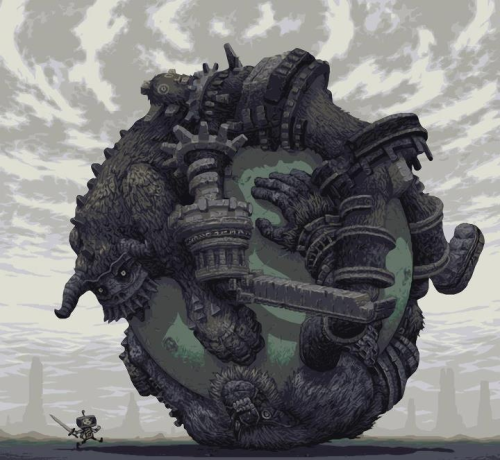 theelitegeek:  Shadow of the Katamari or Katamari of the Colossus
