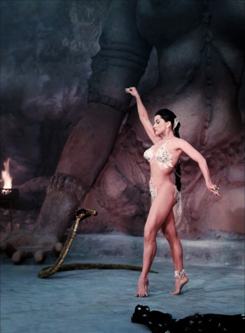 "Debra Paget in ""Indian Tomb"" aka ""Journey to the Lost City"" 1959"