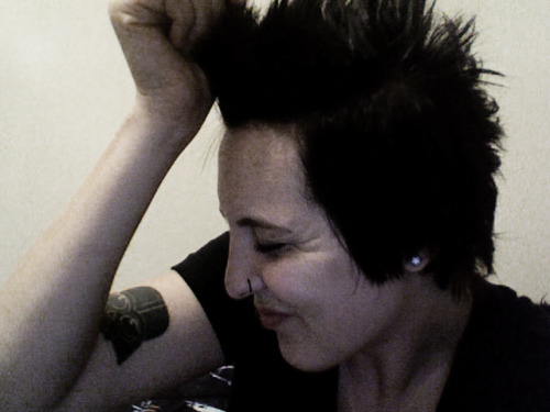 "Monthly Update: June I got my fox-hawk back and I love it, obviously. I started working on ""bigger and better"" projects at my internship. I've got Mondays and Wednesdays off now. I'm starting to redefine some aspects of my life right now. I'm still very single, and I'm very okay with that.EDIT: I'm not really sure I'm okay with the ""single"" thing, but I'm just going to keep telling myself that :)"
