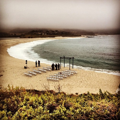 At Carmel for a wedding :) beautiful venue! (Taken with instagram)