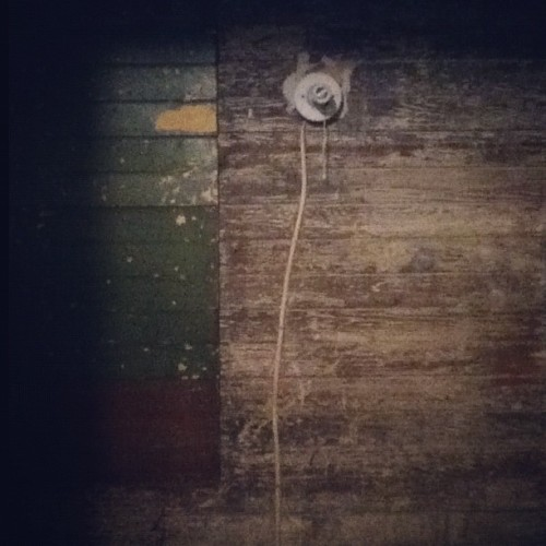 Light off (Taken with Instagram at Jordan's house)