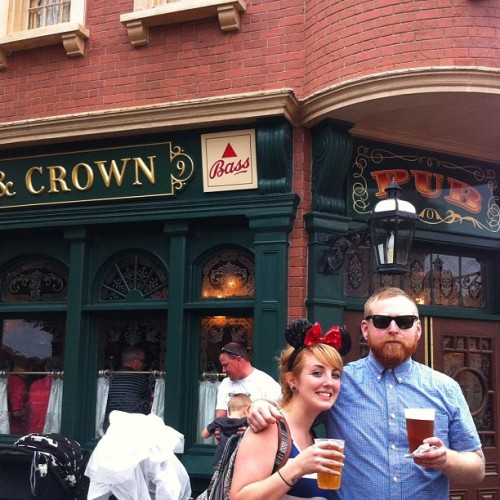#moredrinkstour in England at Epcot. (Taken with instagram)