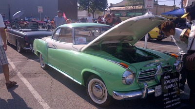 Today I would drive a 1959 Borgward Isabella.