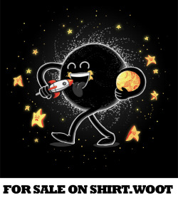 """Let's All Go to The Blackhole"" is for sale now on shirt.woot http://shirt.woot.com/offers/lets-all-go-to-the-black-hole"