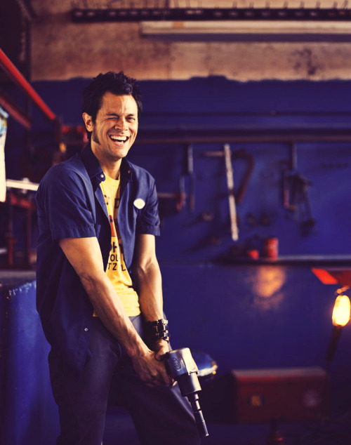 60 handsome men: Johnny Knoxville. 16/60 (not in particular order.)