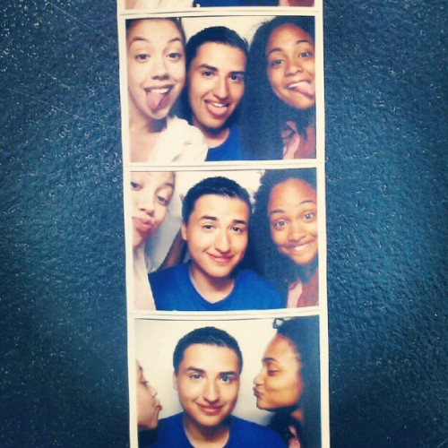 With @carlenne and javellys in the Photobooth! (Taken with Instagram at Block Island)