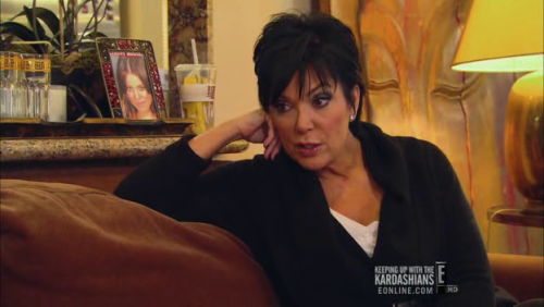 churly:  Kim Kardashian has a framed picture of her sister's mugshot in her apartment.