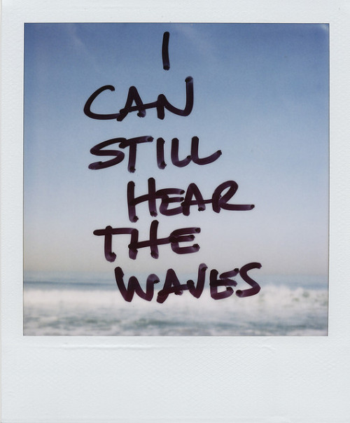 spatiale:  icanstillhearthewaves by danske on Flickr.