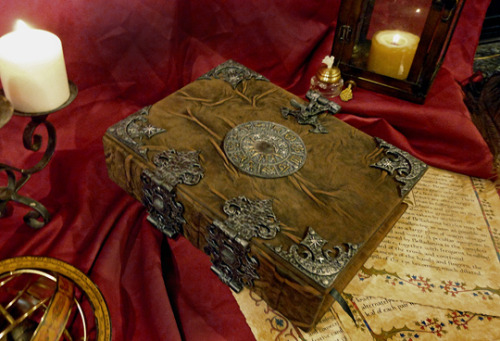 """hellsyeacreepyshit:  Grand Grimoire It is a book, also called """"The Red Dragon,"""" and the """"Gospel of Satan."""" The book is real because the Roman Catholic Church officially claims ownership of it, but has never let the public glimpse it. It is fact that it was discovered in Jerusalem in 1750, in the tomb of Solomon, written in either Biblical Hebrew or Aramaic. The manuscript has not been dated to an earlier time than this, or else the Church has not said, but the book itself is inscribed with the date of 1522 AD. Theorists claims it was copied in that year from a manuscript written in the 1200s AD or earlier. The earliest known proof of it comes from the writings of one Honorius of Thebes, whose existence has not been undeniabl"""