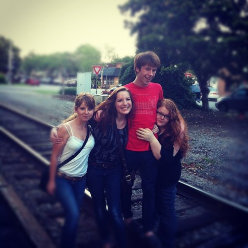 BESTIES ON THE TRAX (Taken with instagram)