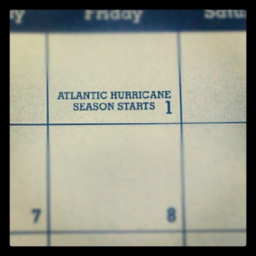 Woohoo! Break out the guns, imma hunt me a hurricane! (Taken with instagram)