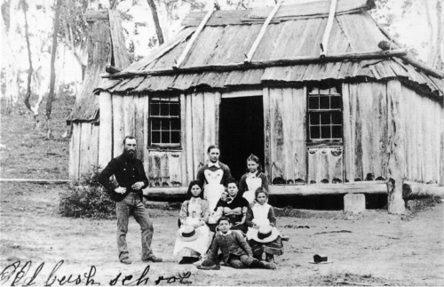 Old Bush School at Windellama East c 1880