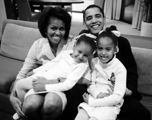 theghettoscribe:  Our First Family.