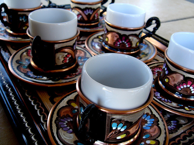 Turkish coffee cups by Turkish Coffee World on Flickr.