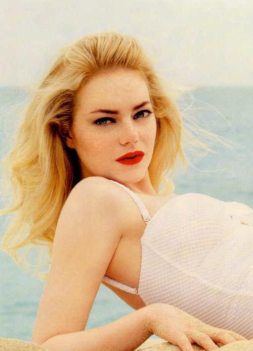 Emma Stone by Patrick Demarchelier for Vanity Fair, August 2011
