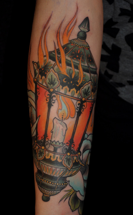 Ryan Mason, Lantern. I need a tattoo of some sort of light source just to copy this kind of color palette.