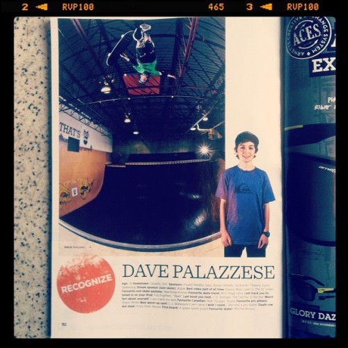 Dave Palazzese one to watch !  (Taken with instagram)